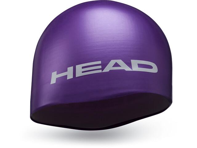 Head Silicone Moulded Gorra, violeta